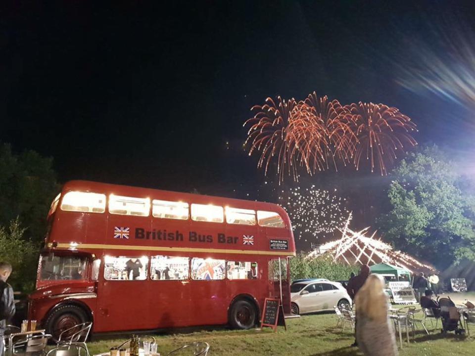 Catton Hall Fireworks September 2017